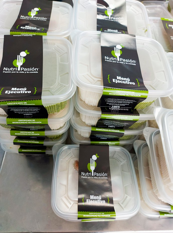 delivery de menus - Nutripasion - concesionario de alimentos