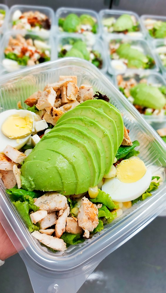 ensalada con palta Nutripasion - concesionario de alimentos