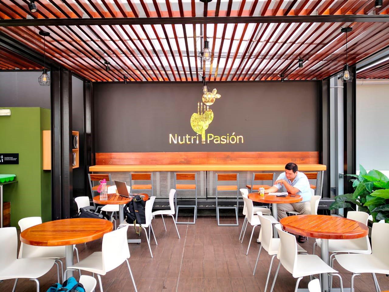 local de upc de Nutripasion - concesionario de alimentos