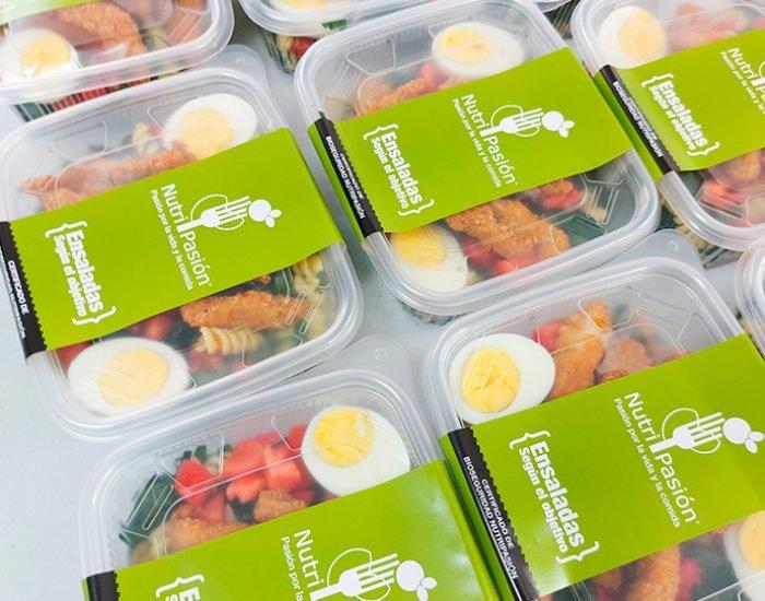 delivery de ensaladas de Nutripasion - concesionario de alimentos