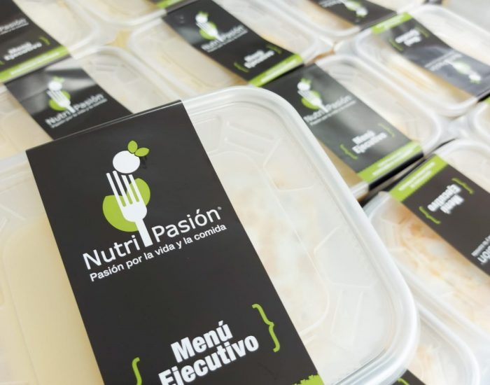 delivery de menu ejecutivo Nutripasion - concesionario de alimentos