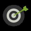 icono de objetivo - Nutripasion - concesionario de alimentos